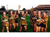 58 - The South Qld Crushers celebrate a win