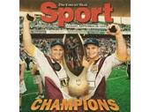72 - Kevvie and Alfie celebrate their 1998 NRL Grand Final win
