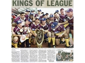 76 - The Broncos celebrate their 1998 NRL Grand Final win