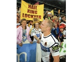 83 - Darren Lockyer after the 2006 NRL Grand Final