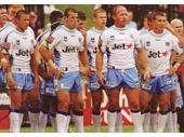 91 - A few of the Gold Coast Titans team