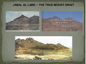 23 - Jabal el Lawz - Correct Mt Sinai