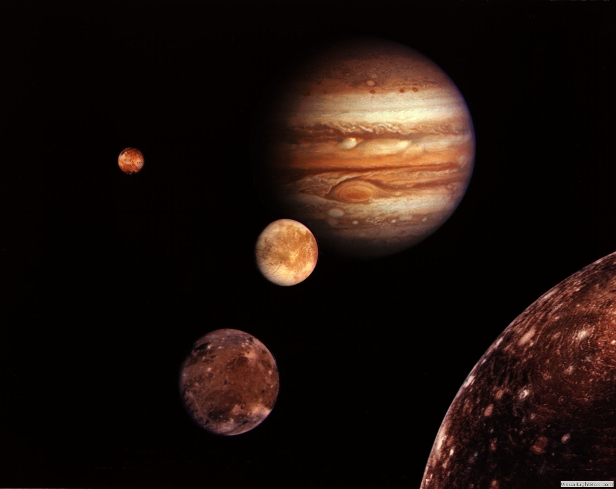 the largest of the jovian planets jupiter and its moons Jupiter and two of its biggest moons loom in stunning latest on jupiter's moons: facts about the largest jovian moons the brightest planets in april's.