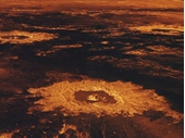 13 - Lava craters of Venus