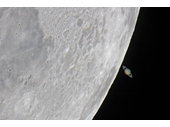17 - Saturn behind the Moon