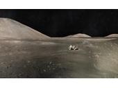 18 - Apollo astronauts exploring the Moon
