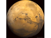 19 - Mars with its super Grand Canyon