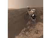 24 - Curiosity rover on Mars