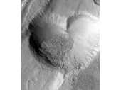26 - The Heart Crater on Mars