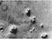 27 - The Face on Mars - 1976 View