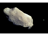 33 - Asteroid Ida and its orbiting 'moon' Dactyl