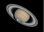 59 - Saturn with polar aurora