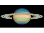 64 - Saturn viewed in false colour