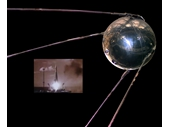 01 - Sputnik - First man-made satellite launched by Russia in 1957