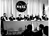 11 - Mercury 7 astronauts being asked who thinks they'll come back alive (John Glenn is doubly sure)