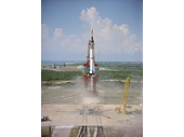 12 - Freedom 7 (Mercury 3) launching Alan Shepard into space