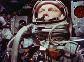 16 - John Glenn, first American to orbit the Earth