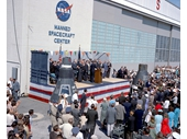 17 - John Glenn being honored after his flight