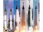 21 - Mercury 3 & 4 (Redstone rockets) and Mercury 6 to 9 (Atlas rockets)