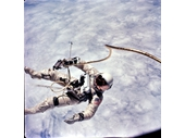 35 - Ed White spacewalk during Gemini 4