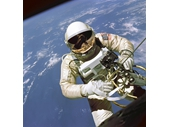 36 - Ed White spacewalk during Gemini 4