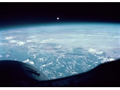 43 -  Pacific Ocean seen from Gemini 7