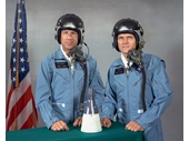 44 - Gemini 7 crew (Jim Lovell and Frank Borman)