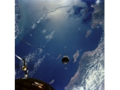 51 - Gemini 11 tethered to an Agena unmanned vehicle