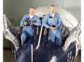 52 - Gemini 12 crew -Buzz Aldrin and Jim Lovell