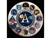 109 - Apollo program mission patches