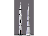 113 - The Saturn V compared to Russia's N1 rocket