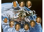 118 - Skylab 2, 3 and 4 crews