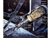 121 -  Skylab cutaway illustration