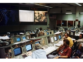 131 - Mission Control during  Apollo Soyuz Test Project Mission