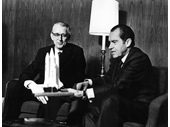 135 - President Nixon and James Fletcher discuss the future Space Shuttle project
