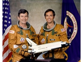 141 - STS-1's crew - John Young and Bob Crippen