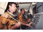 142 - Young and Crippen on Shuttle Columbia