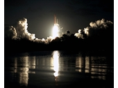 144 - STS 61 - Shuttle Night launch