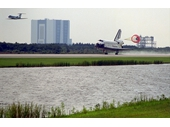 156 - Space Shuttle touches down at Cape Canaveral