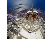 160 - Space Shuttle over Shark Bay