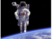 164 - Untethered EVA in Flightsuit