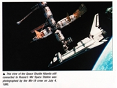 171 - Space Shuttle Atlantis docks with Mir