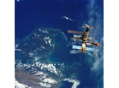182 - Mir Space Station above Nelson in New Zealand