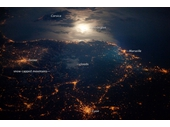 039 - French Riviera at night