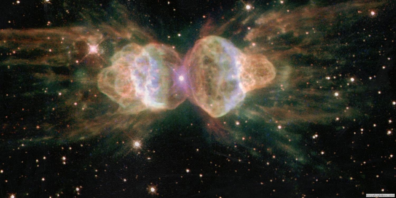 Ant Nebula Found Shooting Lasers Into Space   Ant Nebula