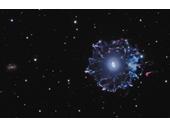 35 - Cat's Eye Nebula with wider view