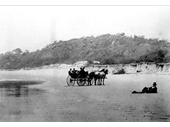 1889 Unknown Gold Coast beach
