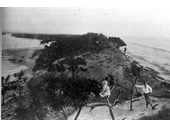1890 Stradbroke Island before it broke into two islands in 1898