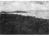 1890's Coolangatta and Tweed River from Razorback hill