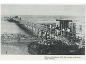1891 Southport Pier and almost no Spit in front of it
